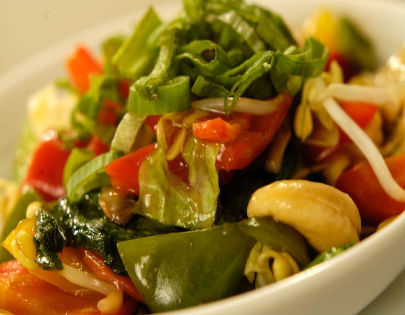 Stir Fried Chinese Exotic