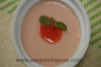 Strawberry Baked Yogurt