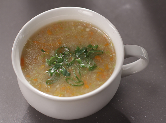 Sweet Corn Vegetable Soup-SK Khazana