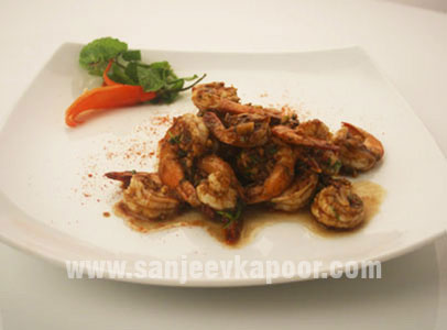 Sweet And Sour Prawns (Parsi Style)