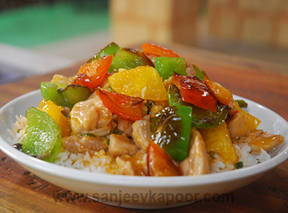 Sweet and Sour Chicken Rice