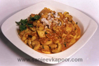 Tender Coconut And Cashewnut Sukke