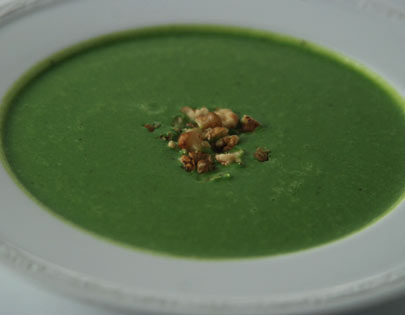 Thick Spinach Soup