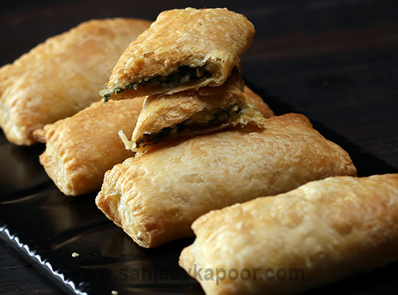 Three Cheese Spinach Puff