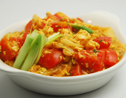 Tomato and Egg Chinese Style