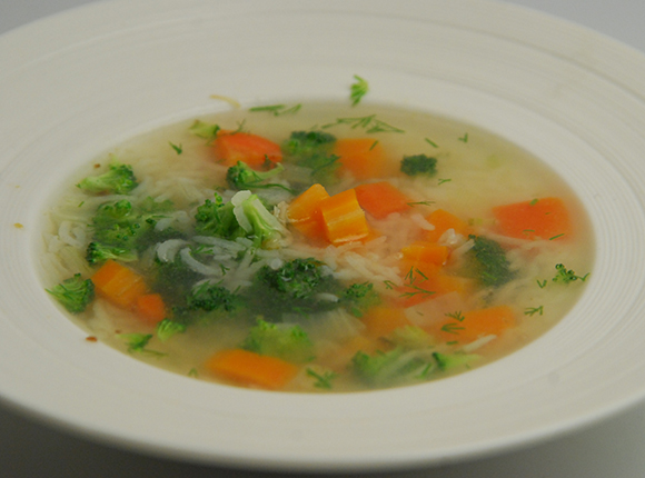 Vegetable Soup-Cook Smart