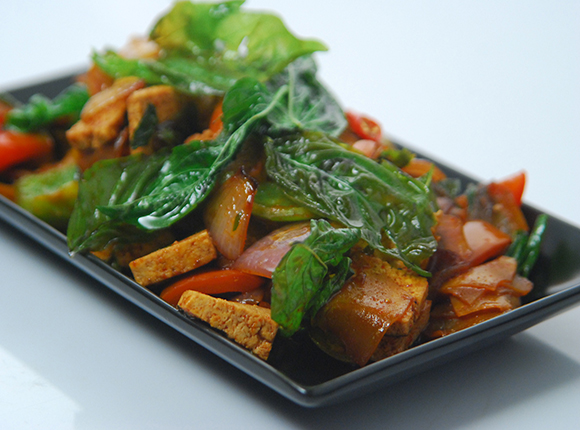 Vegetables with Basil-Cook Smart