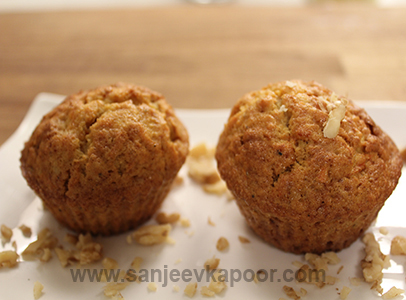 Walnuts and Carrot Cup Cakes