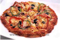 Wholemeal Fresh Dough Thin Crust Pizza
