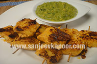 Achari Pineapple Tikka
