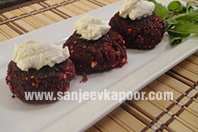 Beetroot and Amle ki Tikki