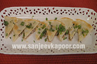 Chicken Stuffed Parantha
