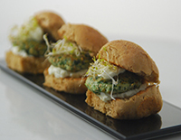 Chicken and Spinach Sliders - Cook Smart