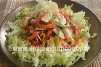 Chicken with Mint Salad