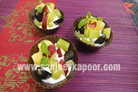 Chocolate Fruit Cups