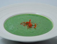 Dairy Free Spinach Soup-Cook Smart