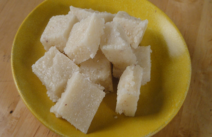 Fresh Nariyal Barfi