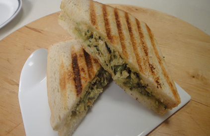 Grilled Chicken Chutney Sandwich