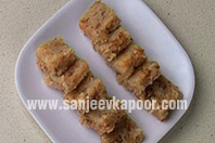 Instant Coconut Barfi