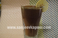 Kala Khatta Jaljeera with Soda