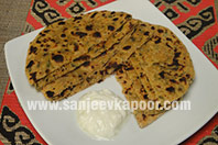 Mixed Flour Methi Chapati