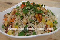 Paneer Pepper Rice