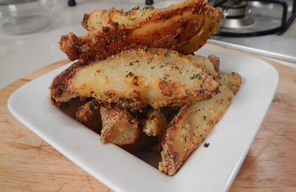 Parmesan Roasted Potato Wedges