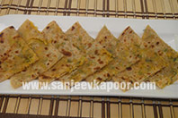 Raw Papaya Parantha