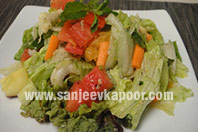 Slimmers Salad in No Oil Dressing