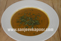 Spicy Pumpkin and Lentil Soup