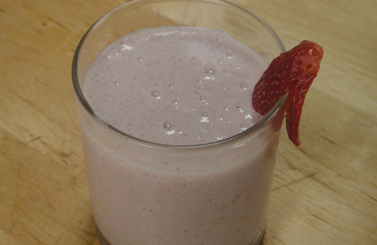 Strawberry Soya Shake