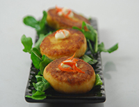Sweet Potato and Crab Cakes - Cook Smart