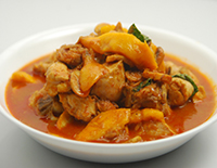 Thai Chicken Mango Curry-Cook Smart