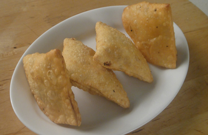 Veg Cheese Triangles